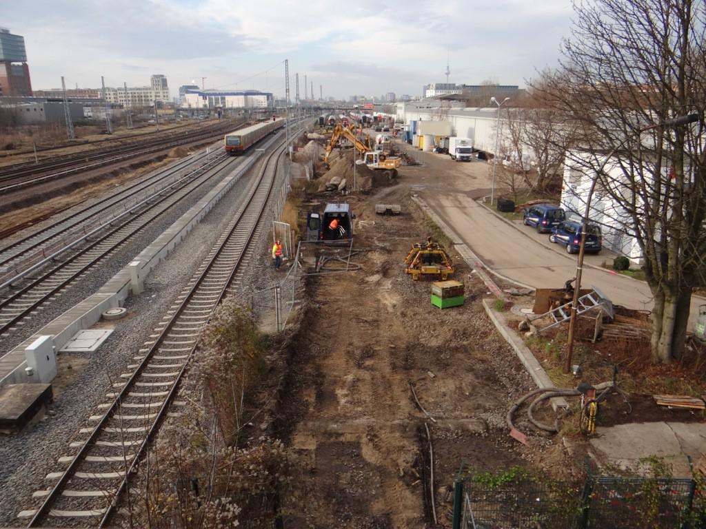 Gleisplanum im Talgowerk