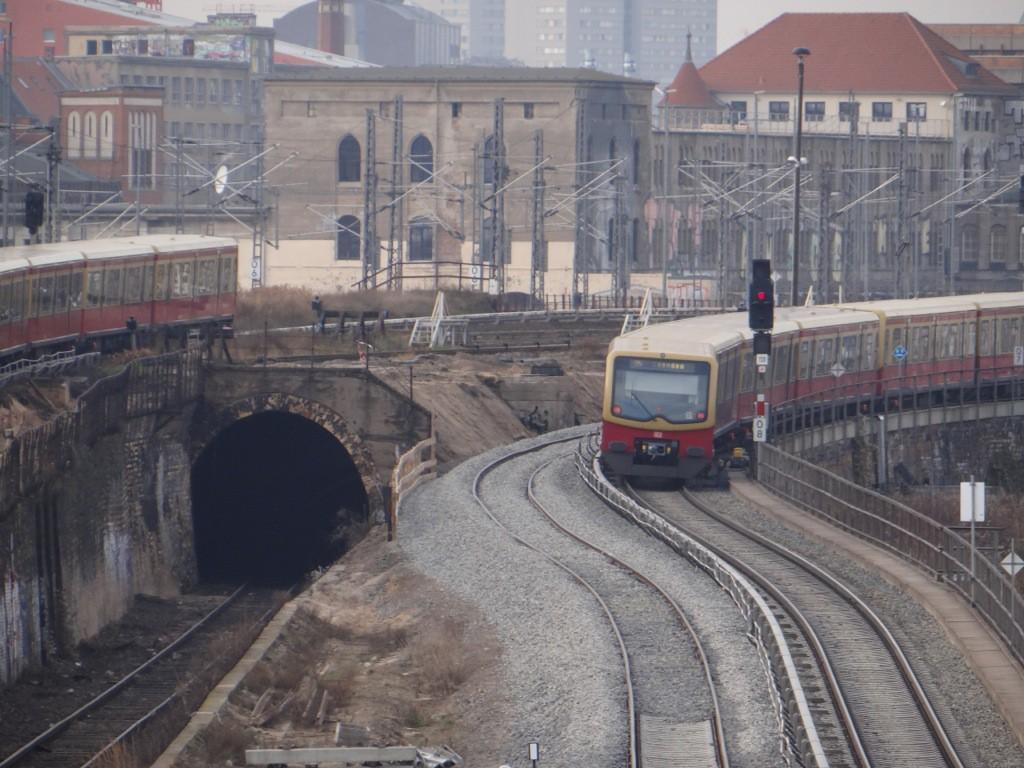 Alte und neue Gleistrasse