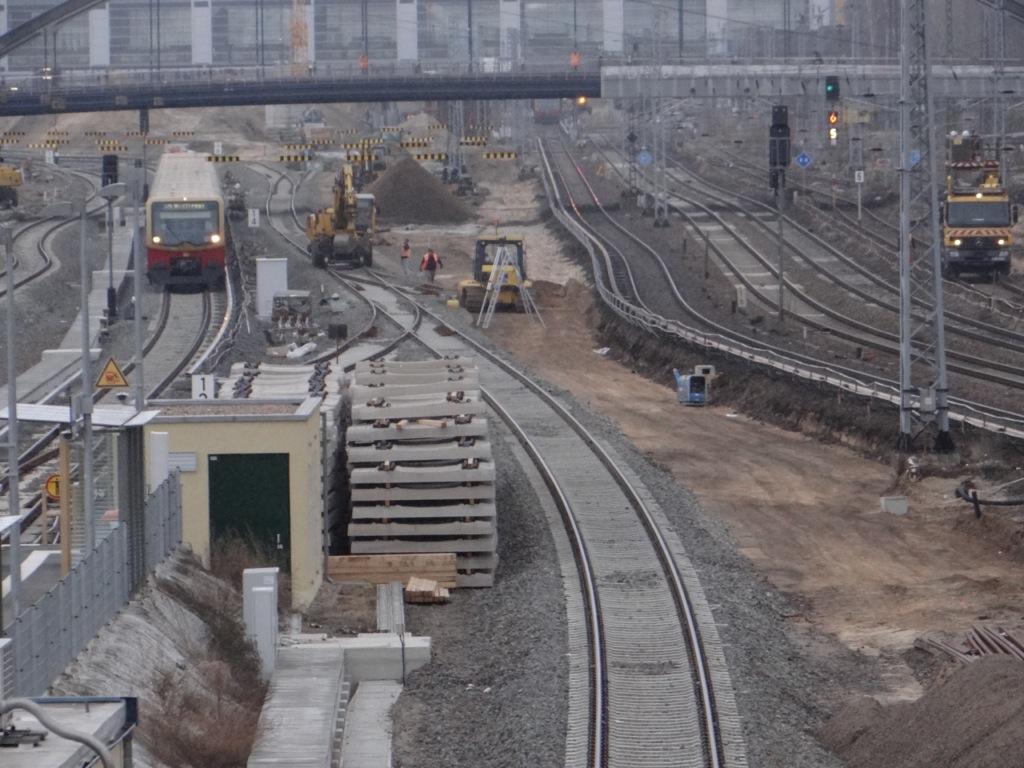 Gleisplanum für das dritte neue S-Bahngleis