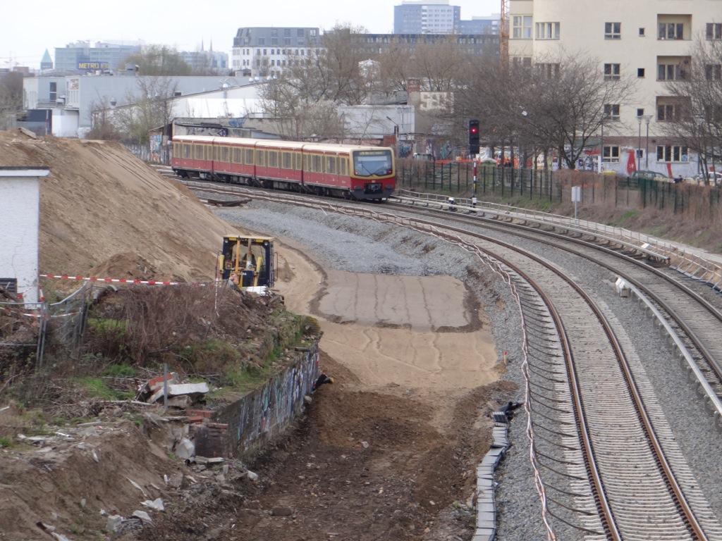 Neues S-Bahngleis