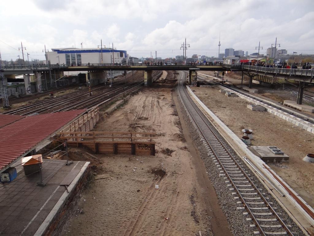Baustelle Warschauer Straße