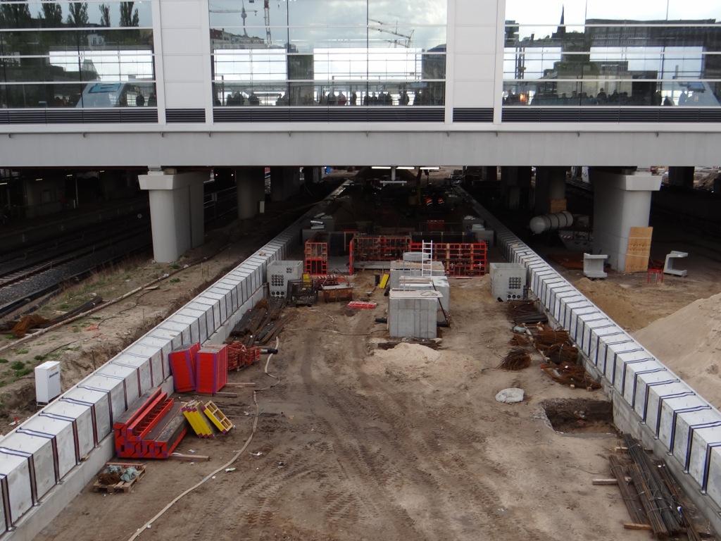 In 6 Monaten halten hier die S-Bahnen nach Lichtenberg