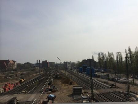 Bauarbeiten zwischen Ostkreuz und Rummelsburg