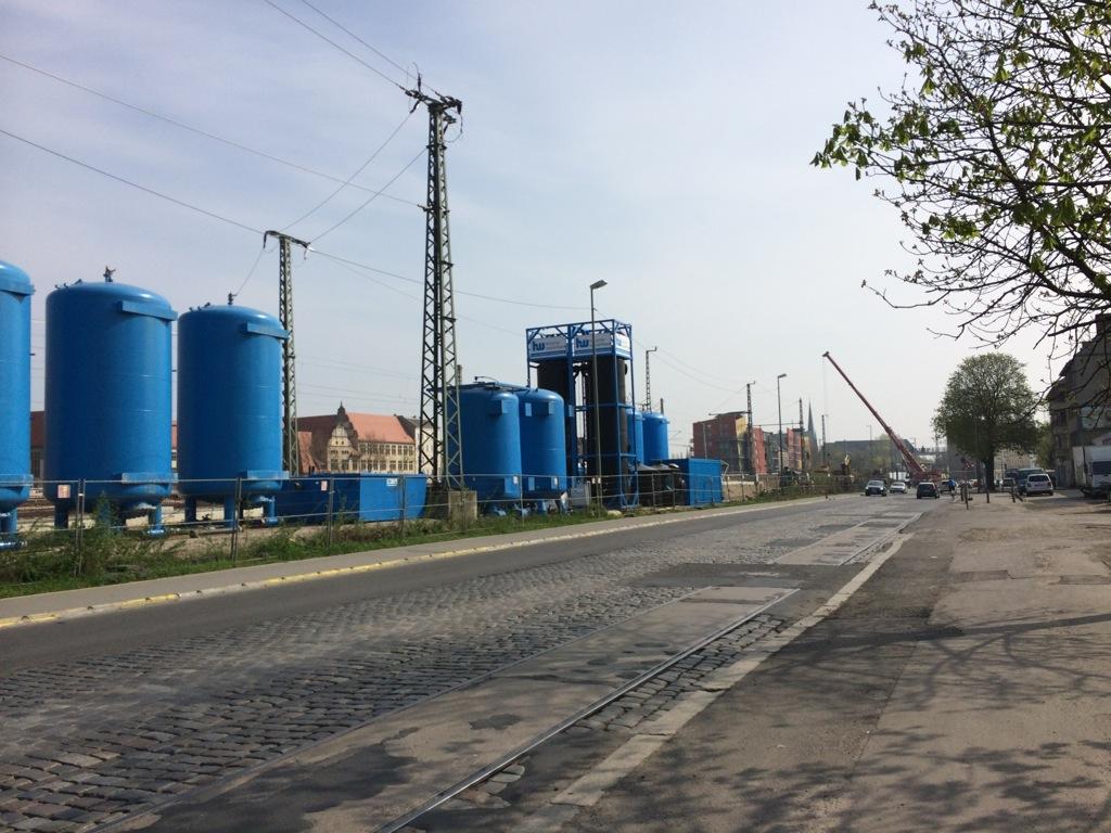 Pumpwerk für das Grundwassermanagement