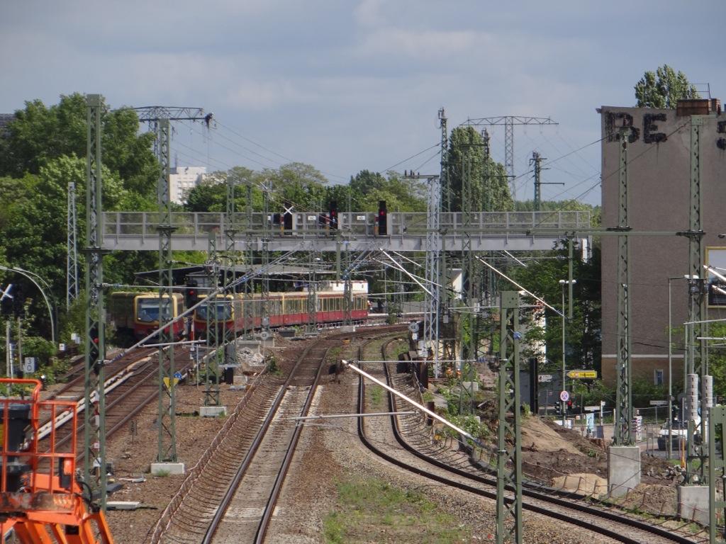 Oberleitung in Rummelsburg