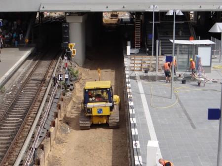 Gleisplanum der S-Bahn