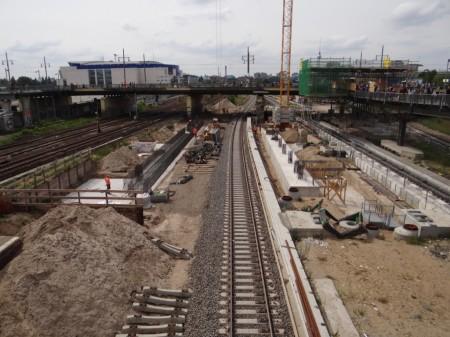 Fundament Warschauer Straße