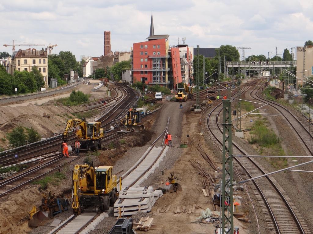 Gleisbauarbeiten S3