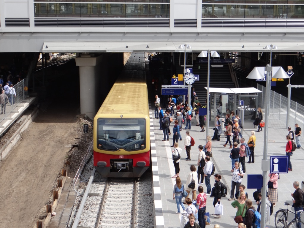 Einfahrt S3 Ostkreuz