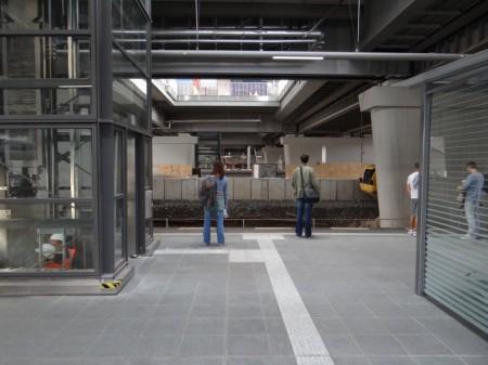 Bahnsteig Ru Aufzug