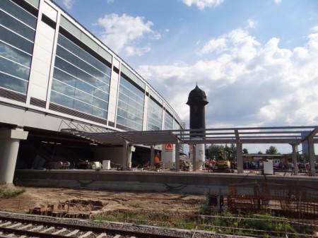 Bahnsteigdach Bahnsteig D