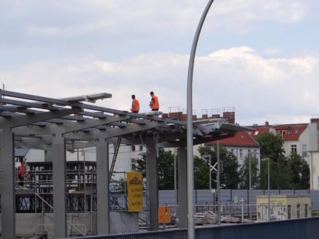 Dach Bahnsteig Ro