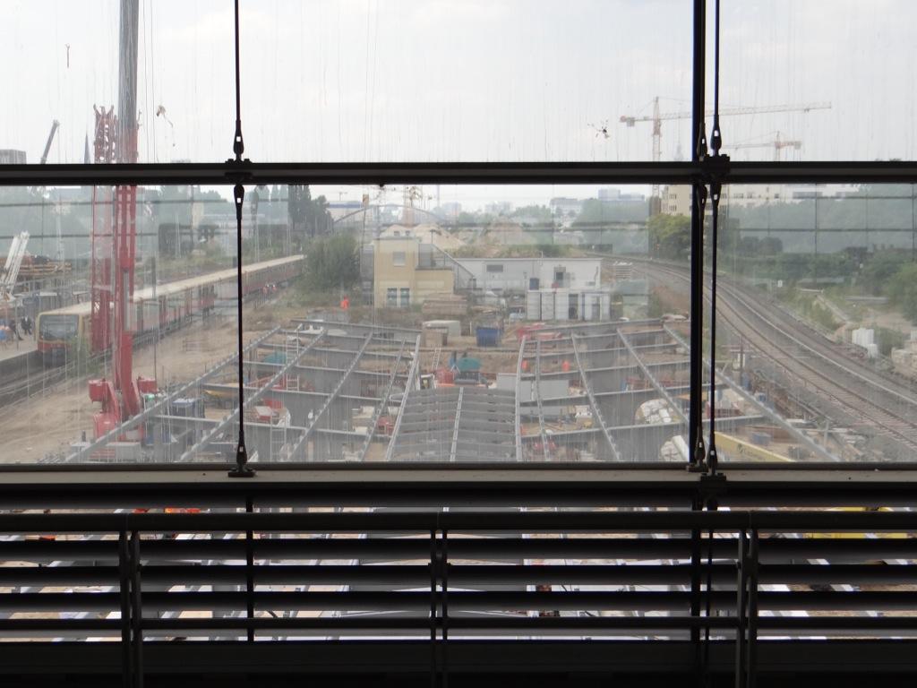 Dach Bahnsteig D