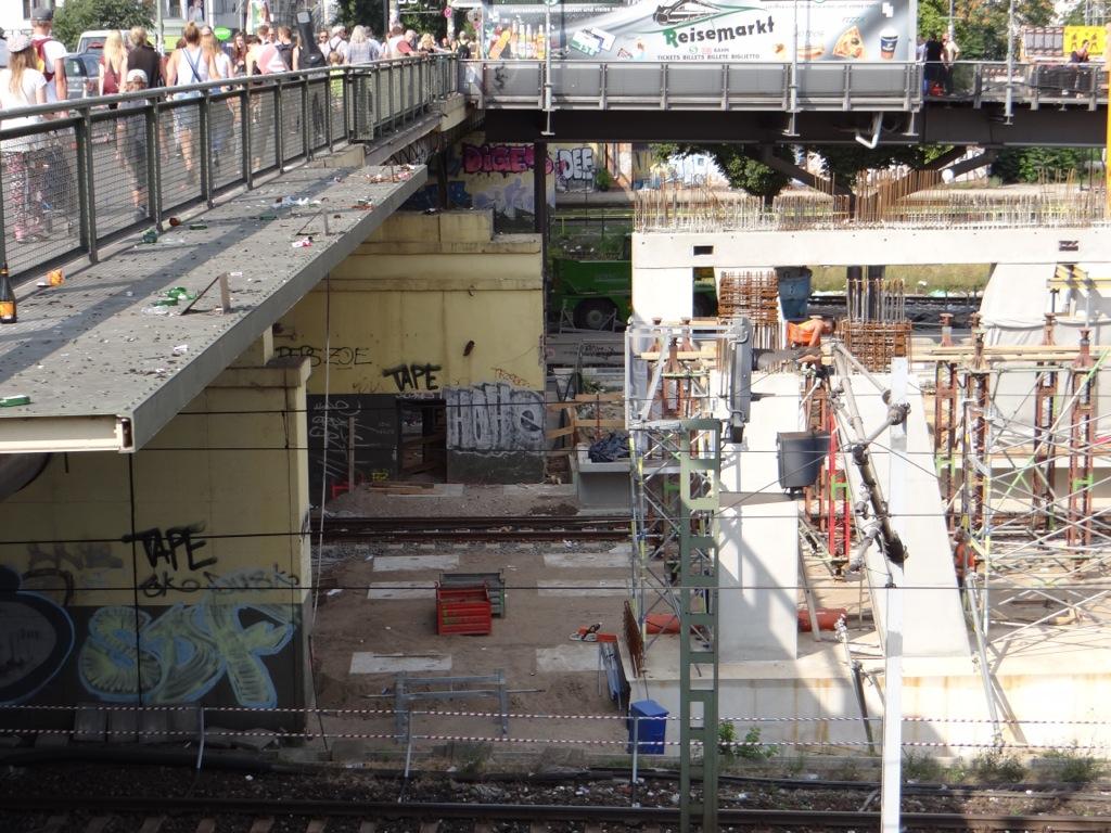 Stützpfeiler Warschauer Straße