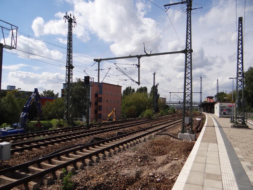 Bahntrasse in Rummelsburg