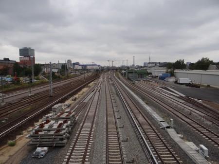Gleisvorfeld Warschauer Straße