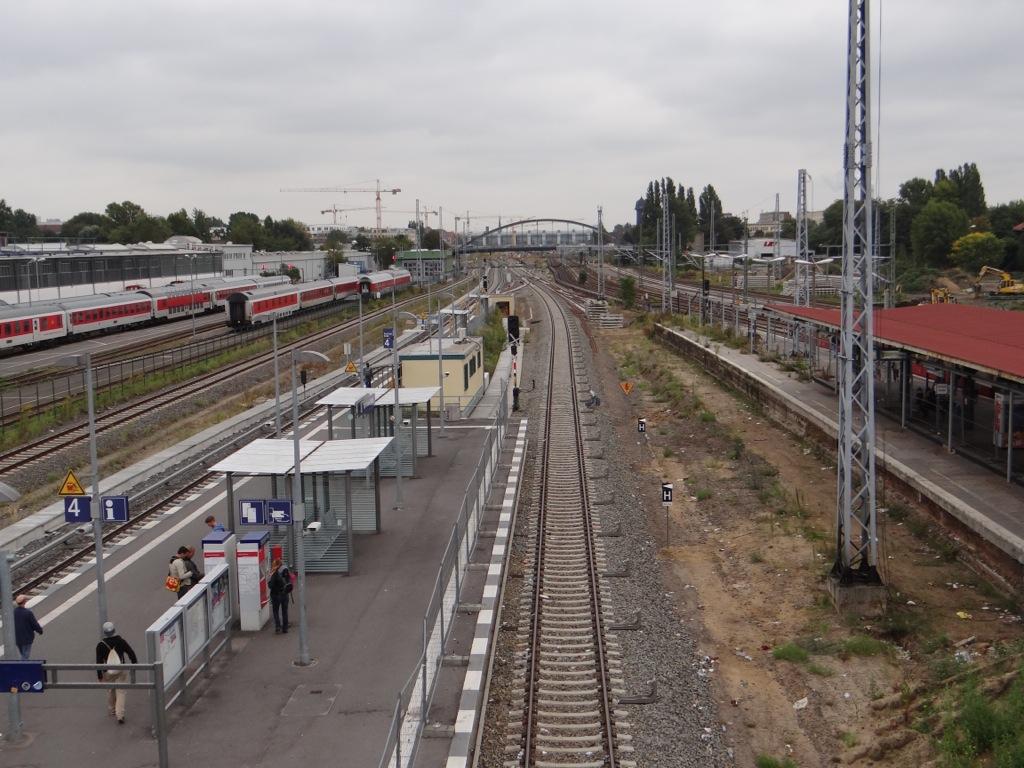 Neubau Bahnhof Warschauer Straße