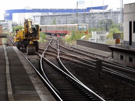 Weichenkreuz Ostbahnhof