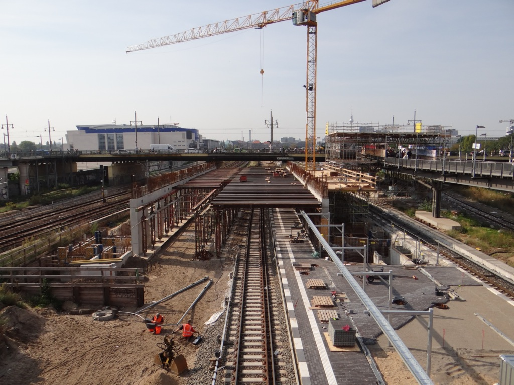 Warschauer Straße Bahnsteig B