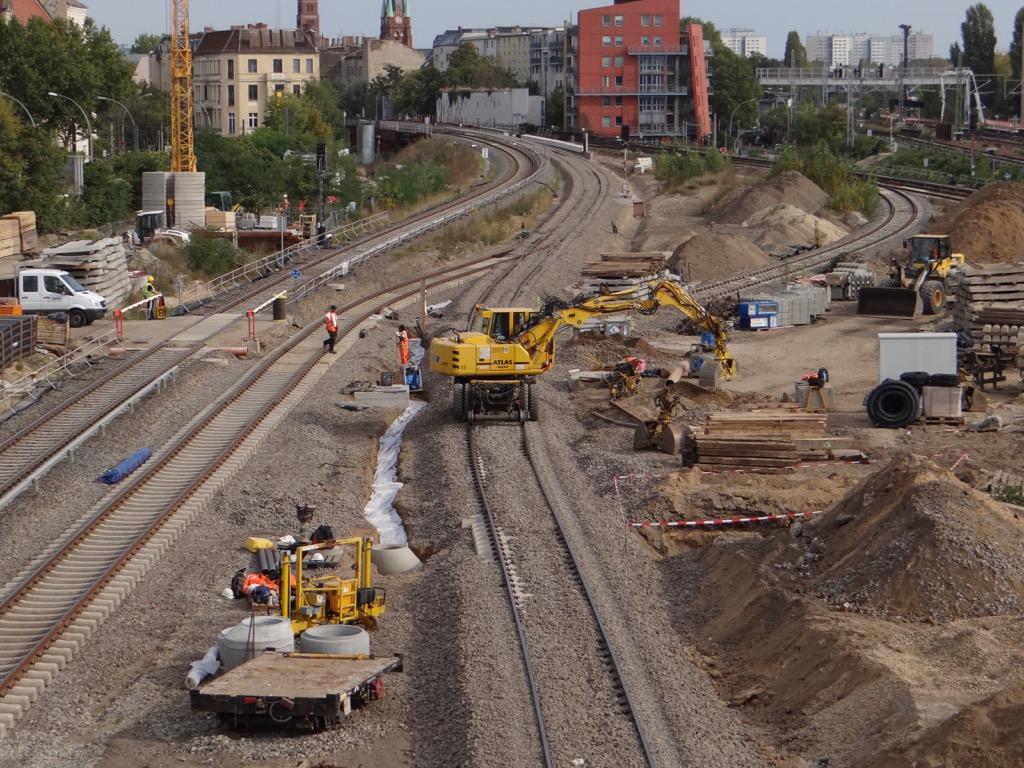 Gleise Ostbahn