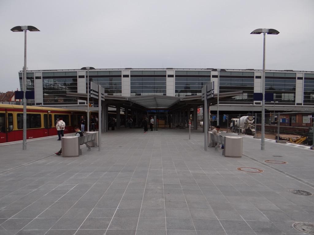 Der neue Bahnsteig D
