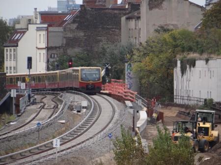 S-Bahngleis Karlshorster Straße