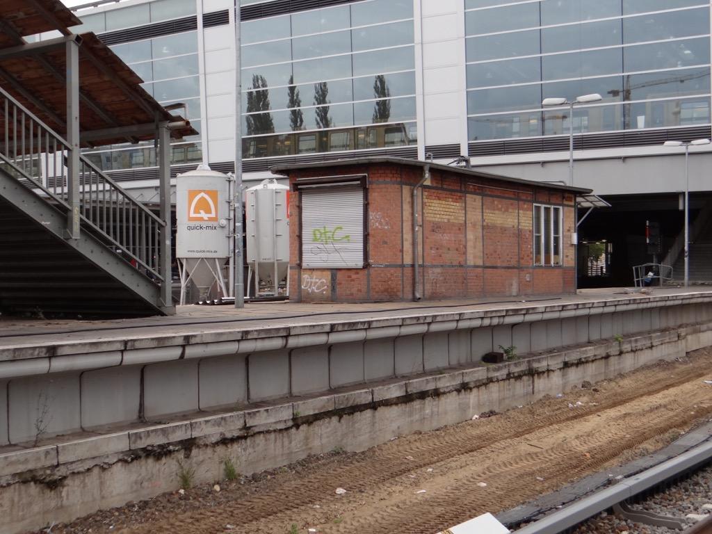 Alter Bahnsteig E