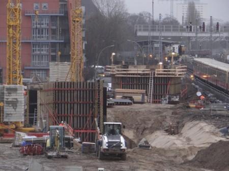 Brückenwiderlager S3 Brücke