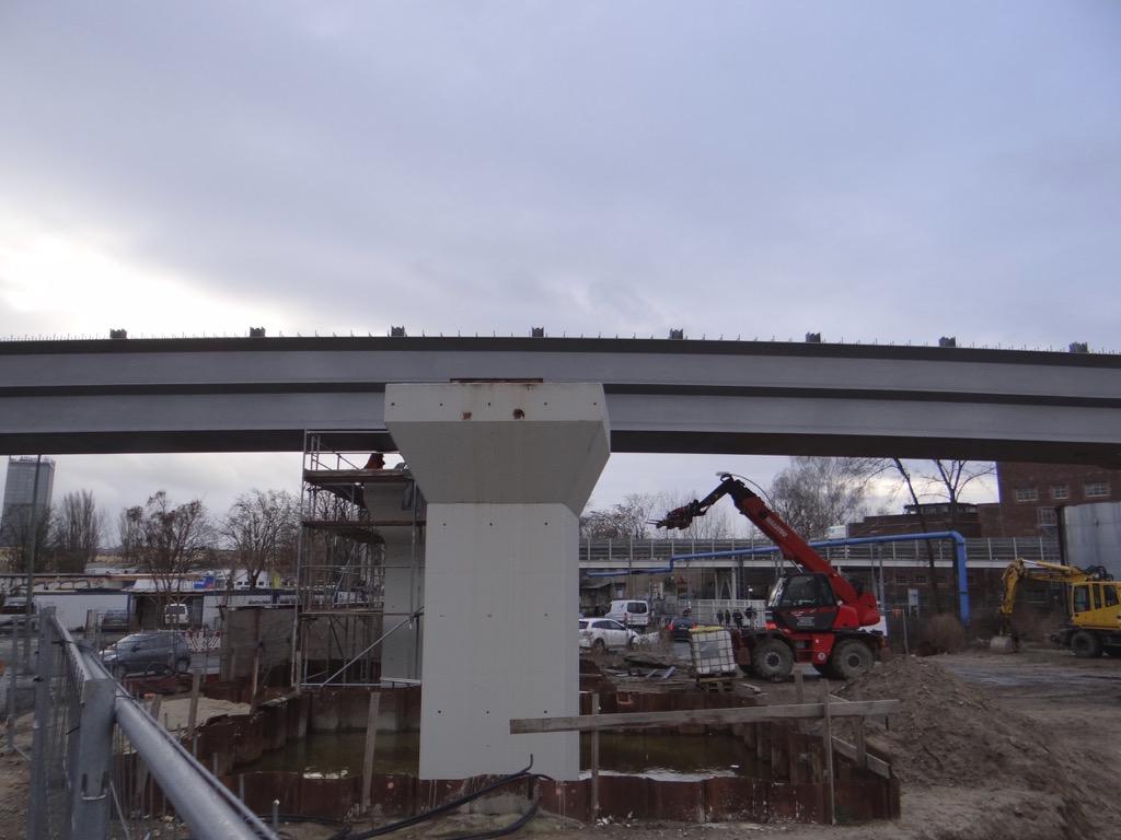 Einschub Brücke Verbindungskurve