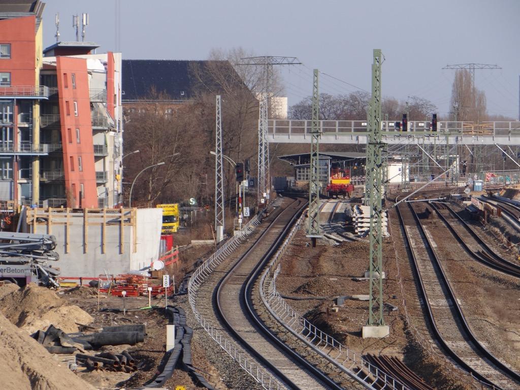 Trasse der Frankfurter Bahn
