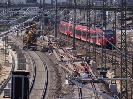 Neue Fernbahngleise Warschauer Straße