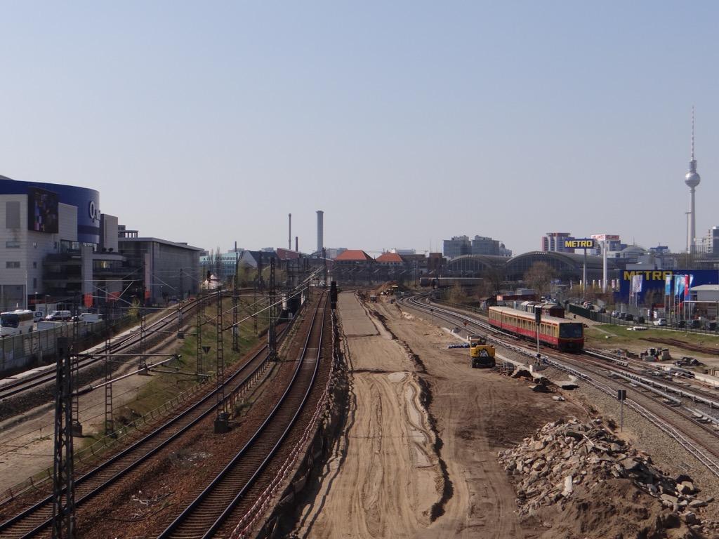 Neues Gleisplanum für die S-Bahn