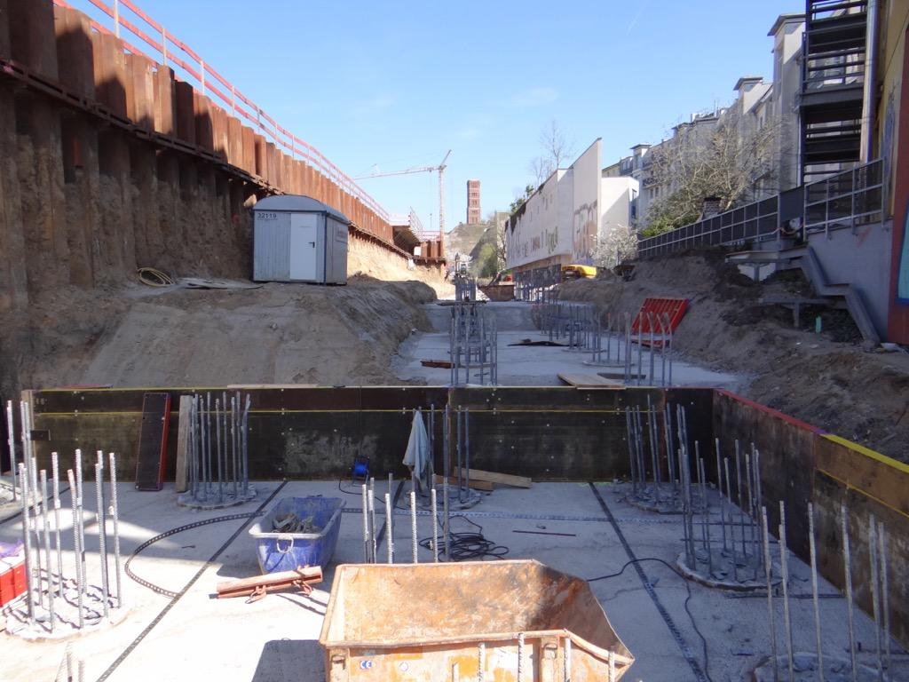 Widerlager Brücke Karlshorster Straße