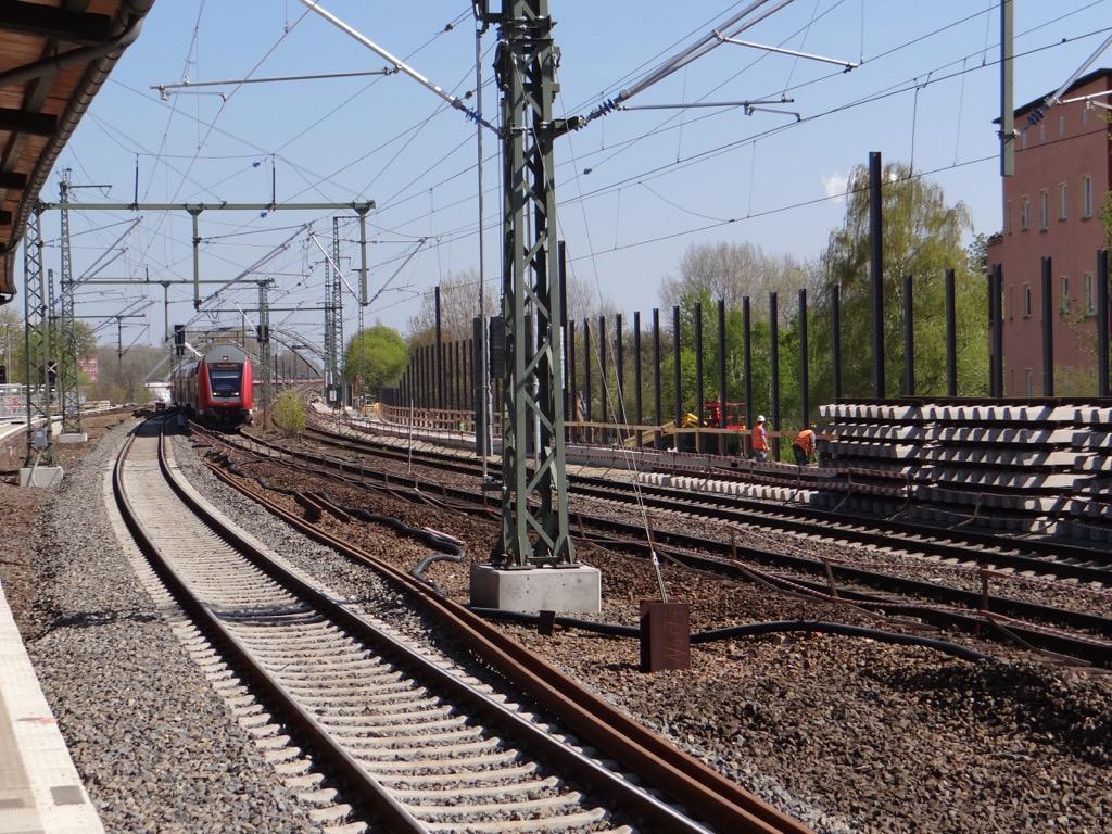 Fernbahntrasse in Rummelsburg