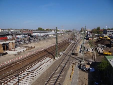 Fernbahngleise Warschauer Straße