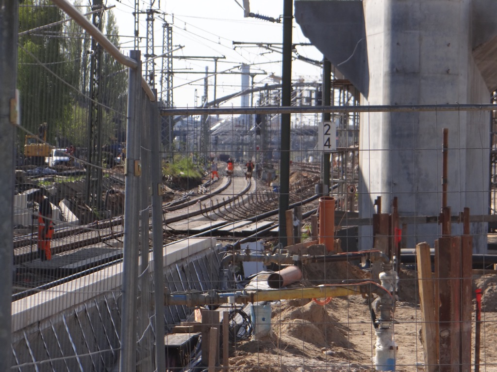 Fernbahngleise Ostkreuz