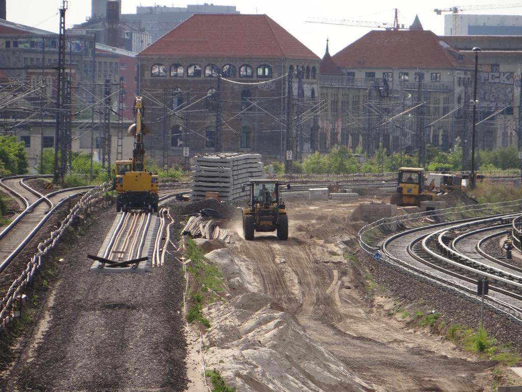 Gleisbau Ostbahnhof