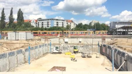 Baustelle Berlin Ostkreuz
