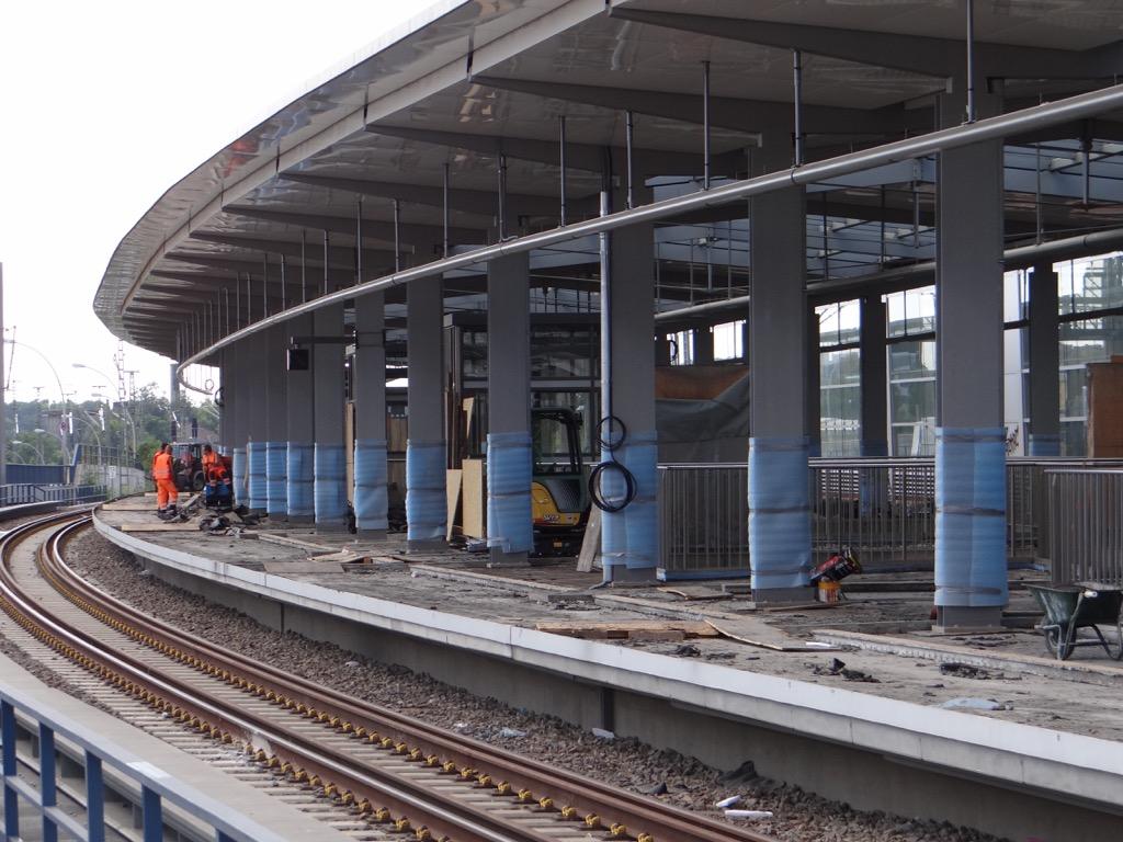 Regionalbahnsteig Ringbahn