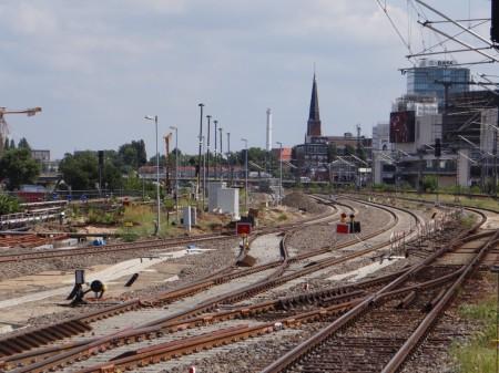 Gleisanlagen S-Bahn