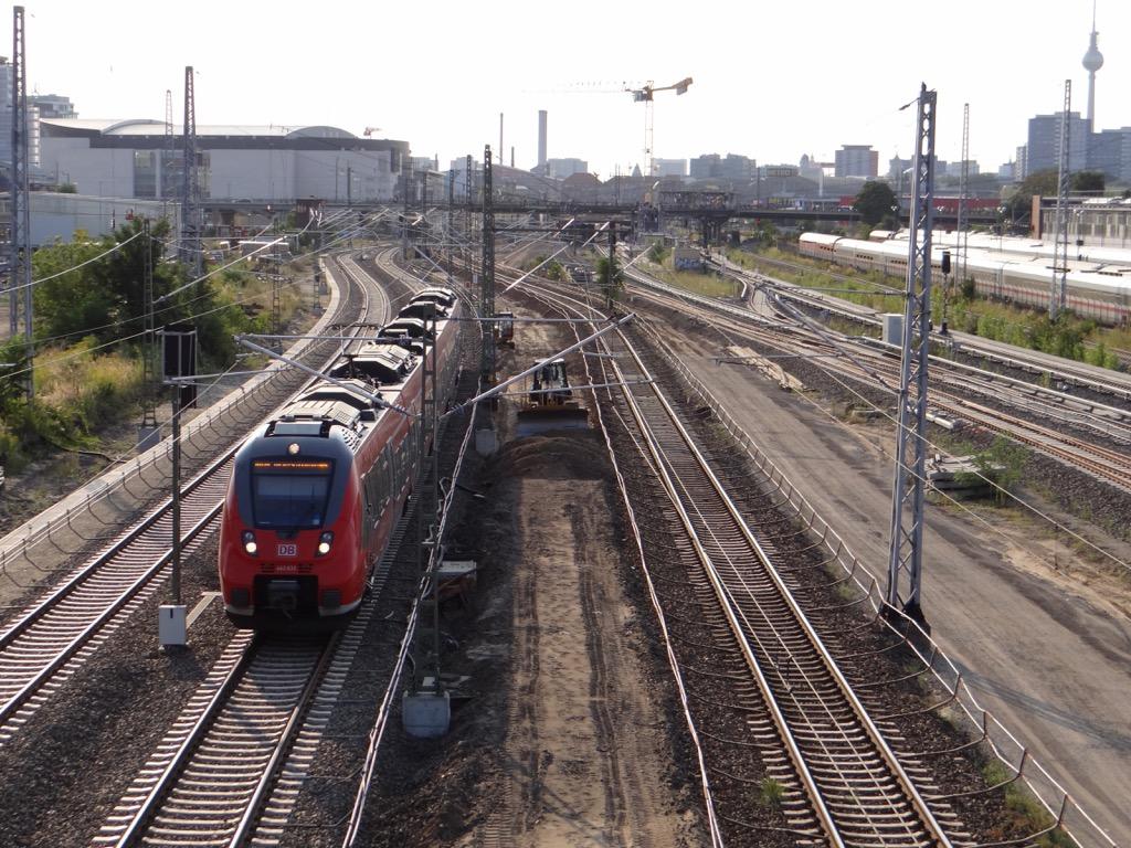 Fernbahntrasse Warschauer Straße