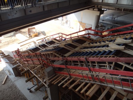 Treppe Bahnsteig E