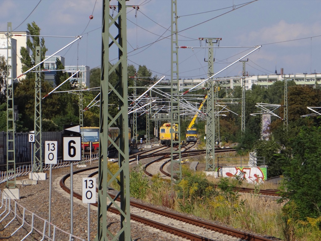 Oberleitung Ringbahn