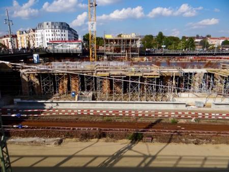 Neuer Bahnsteig A Warschauer Straße
