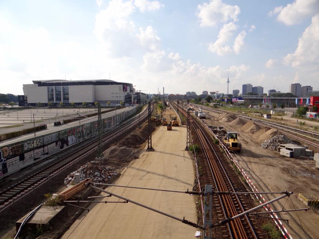 Gleisplanum Fernbahn Warschauer Straße