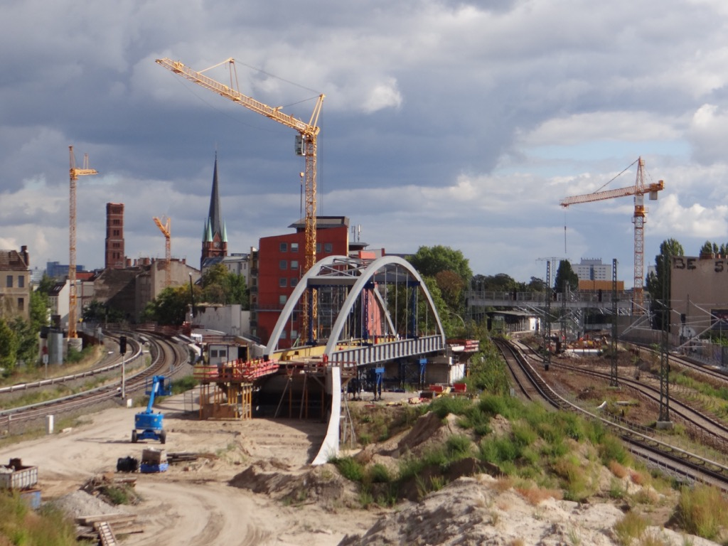 Bogenbrücke S3 Ostkreuz