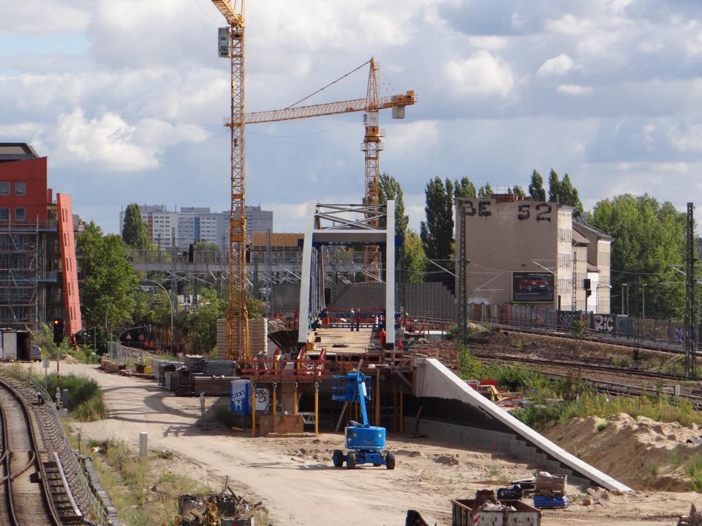 Bogenbrücke S9 Ostkreuz