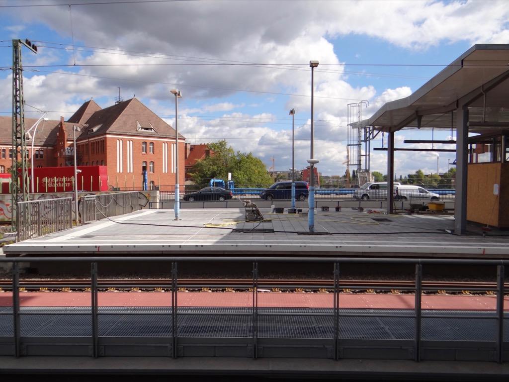 Regionalbahnsteig Ring am Ostkreuz