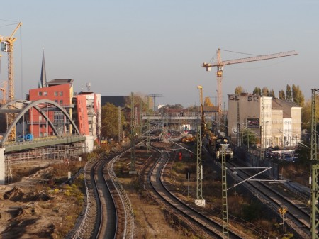 Fernbahn Rummelsburg-Ostkreuz