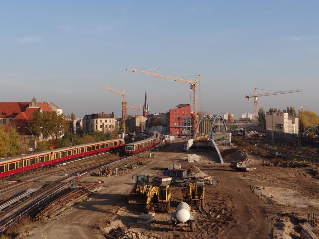 Stabbogenbrücke S3 Ostkreuz